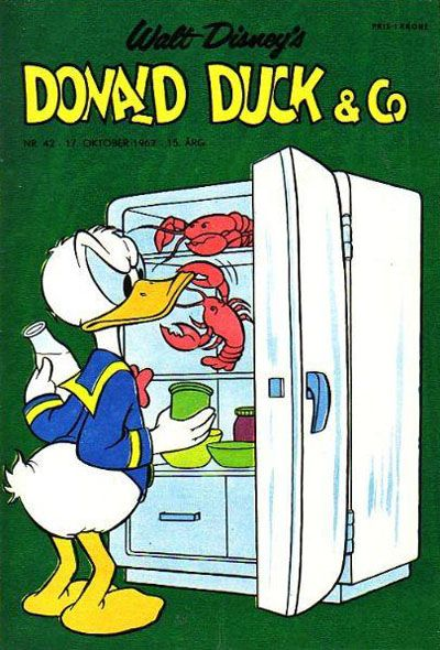 Cover for Donald Duck & Co (Hjemmet, 1948 series) #42/1962