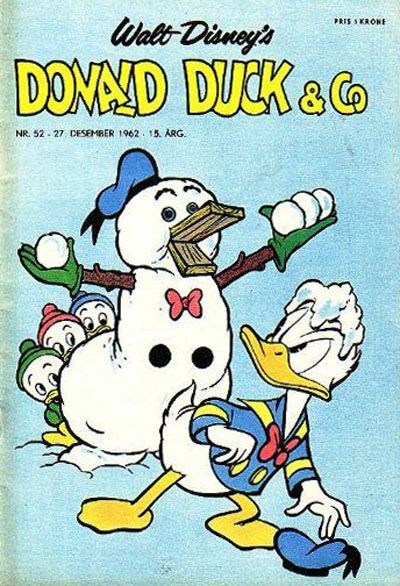 Cover for Donald Duck & Co (Hjemmet, 1948 series) #52/1962