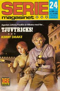 Cover Thumbnail for Seriemagasinet (Semic, 1970 series) #24/1980