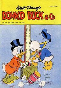 Cover Thumbnail for Donald Duck & Co (Hjemmet, 1948 series) #18/1963