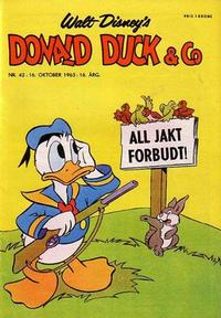 Cover Thumbnail for Donald Duck & Co (Hjemmet, 1948 series) #42/1963