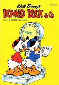 Cover Thumbnail for Donald Duck & Co (Hjemmet, 1948 series) #44/1963