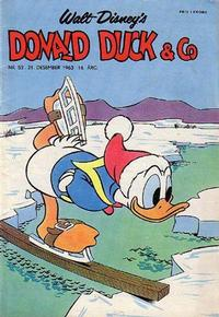 Cover Thumbnail for Donald Duck & Co (Hjemmet, 1948 series) #52/1963