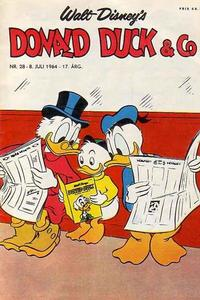 Cover Thumbnail for Donald Duck & Co (Hjemmet, 1948 series) #28/1964