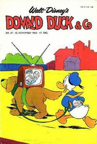 Cover Thumbnail for Donald Duck & Co (Hjemmet, 1948 series) #47/1964