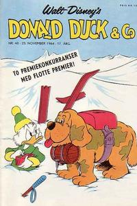 Cover Thumbnail for Donald Duck & Co (Hjemmet, 1948 series) #48/1964