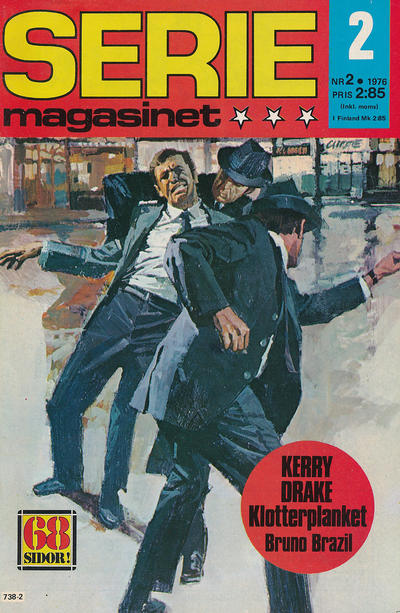 Cover for Seriemagasinet (Semic, 1970 series) #2/1976