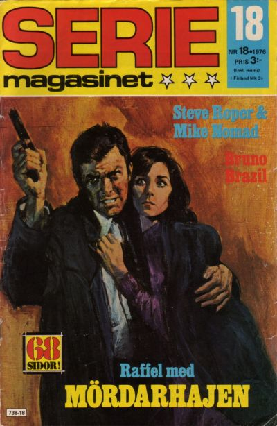 Cover for Seriemagasinet (Semic, 1970 series) #18/1976