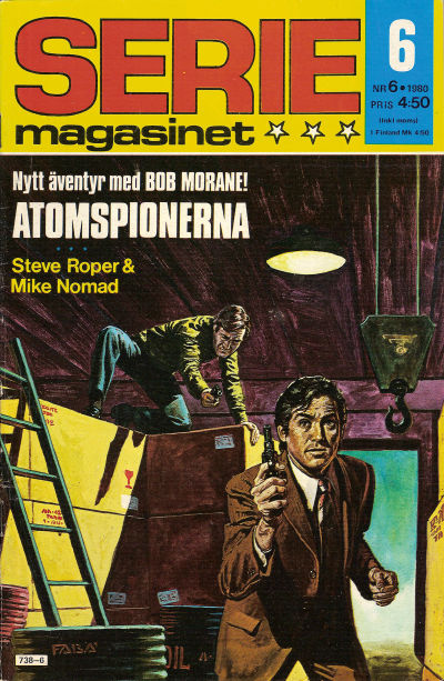 Cover for Seriemagasinet (Semic, 1970 series) #6/1980