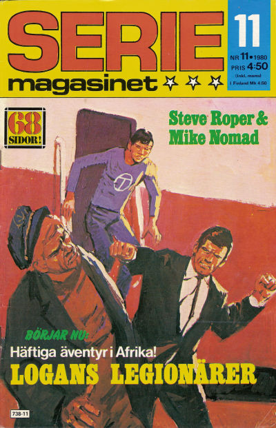 Cover for Seriemagasinet (Semic, 1970 series) #11/1980
