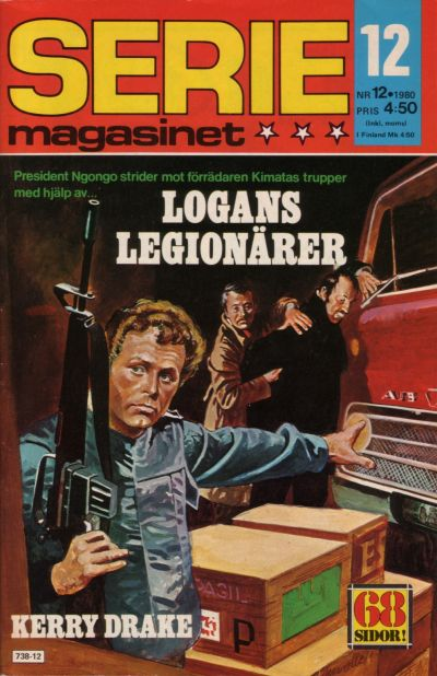 Cover for Seriemagasinet (Semic, 1970 series) #12/1980