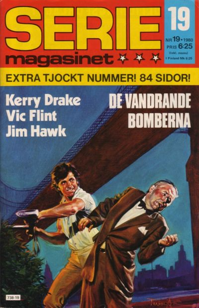 Cover for Seriemagasinet (Semic, 1970 series) #19/1980