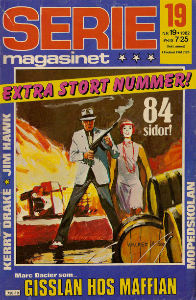 Cover for Seriemagasinet (Semic, 1970 series) #19/1982