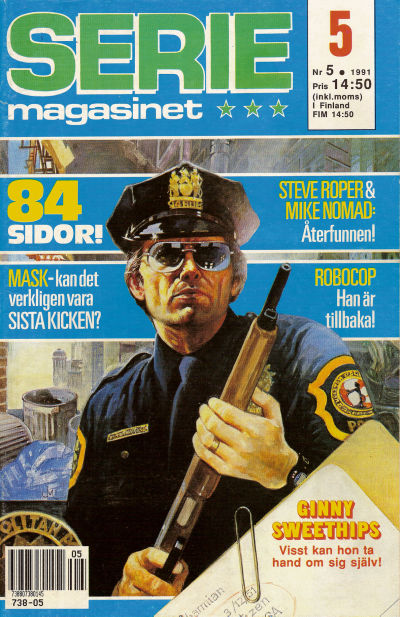 Cover for Seriemagasinet (Semic, 1970 series) #5/1991