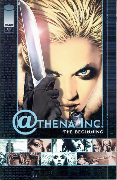Cover for Athena Inc. The Beginning (Image, 2001 series) #1