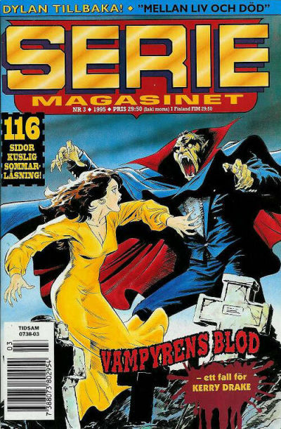 Cover for Seriemagasinet (Semic, 1970 series) #3/1995