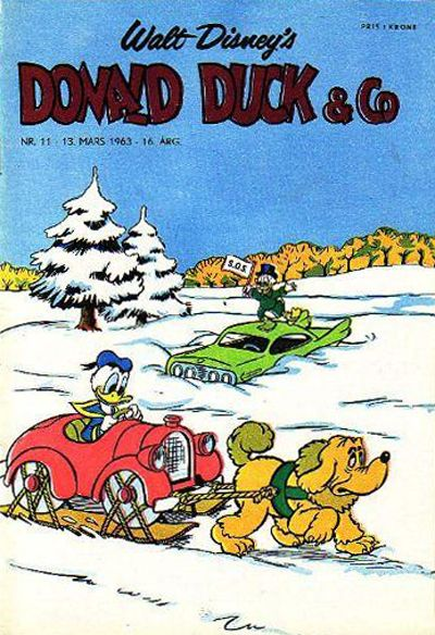 Cover for Donald Duck & Co (Hjemmet, 1948 series) #11/1963