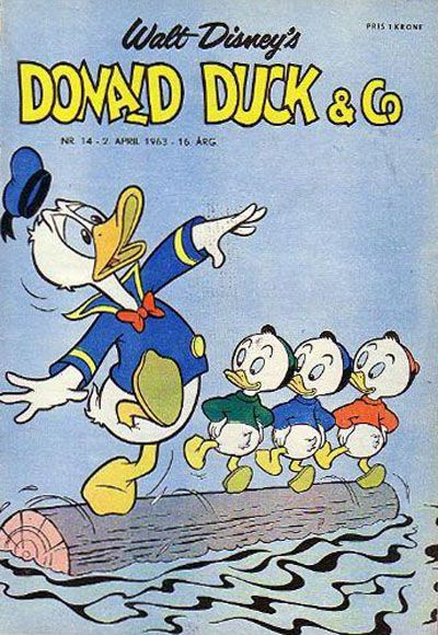 Cover for Donald Duck & Co (Hjemmet, 1948 series) #14/1963