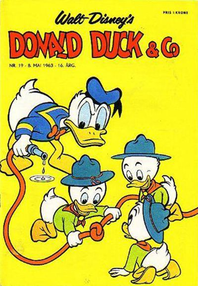 Cover for Donald Duck & Co (Hjemmet, 1948 series) #19/1963