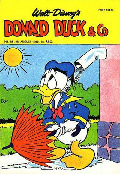 Cover for Donald Duck & Co (Hjemmet, 1948 series) #35/1963