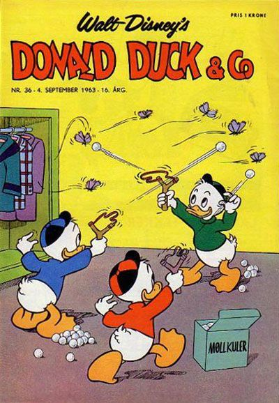 Cover for Donald Duck & Co (Hjemmet, 1948 series) #36/1963