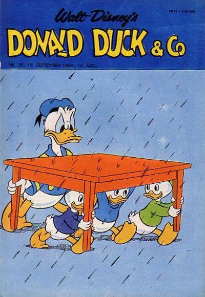 Cover for Donald Duck & Co (1948 series) #38/1963