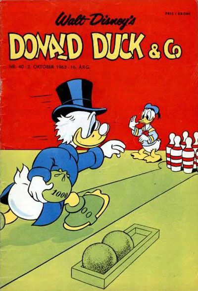 Cover for Donald Duck & Co (Hjemmet, 1948 series) #40/1963