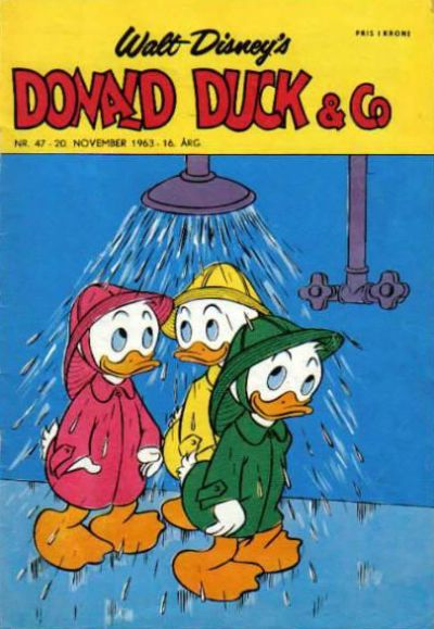 Cover for Donald Duck & Co (Hjemmet, 1948 series) #47/1963