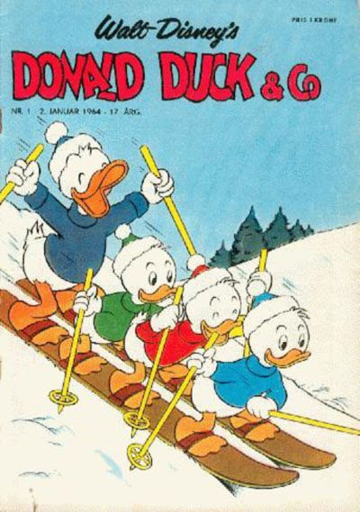 Cover for Donald Duck & Co (Hjemmet / Egmont, 1948 series) #1/1964