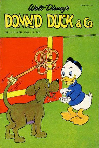 Cover for Donald Duck & Co (Hjemmet, 1948 series) #14/1964