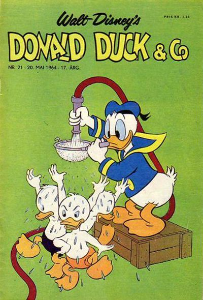 Cover for Donald Duck & Co (Hjemmet, 1948 series) #21/1964