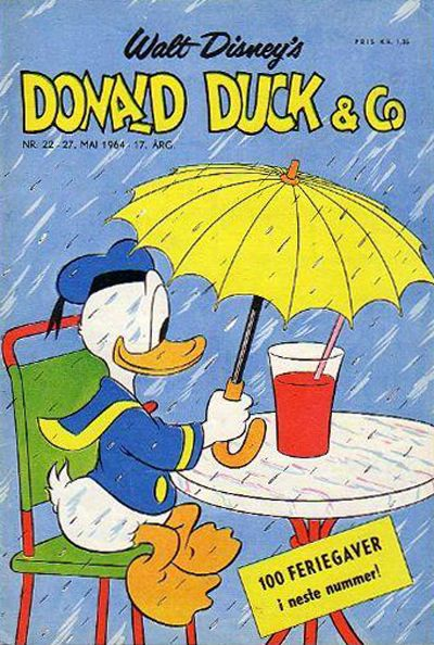 Cover for Donald Duck & Co (Hjemmet, 1948 series) #22/1964