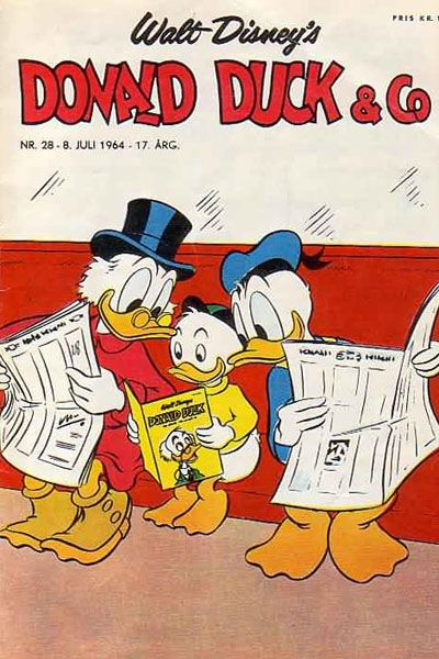 Cover for Donald Duck & Co (Hjemmet, 1948 series) #28/1964
