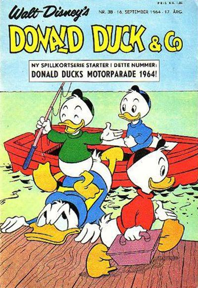 Cover for Donald Duck & Co (Hjemmet / Egmont, 1948 series) #38/1964