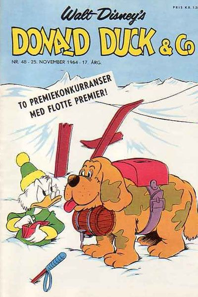 Cover for Donald Duck & Co (Hjemmet, 1948 series) #48/1964