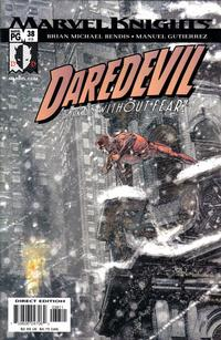 Cover Thumbnail for Daredevil (Marvel, 1998 series) #38