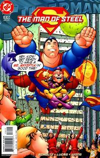Cover Thumbnail for Superman: The Man of Steel (DC, 1991 series) #132