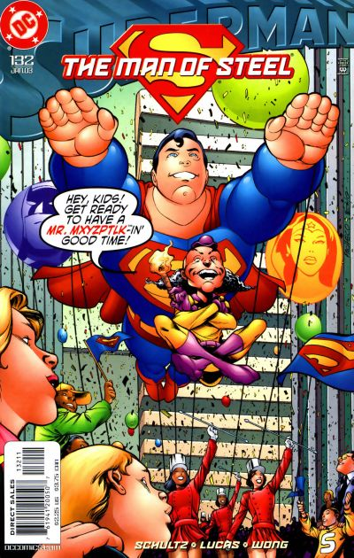 Cover for Superman: The Man of Steel (DC, 1991 series) #132