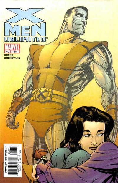 Cover for X-Men Unlimited (Marvel, 1993 series) #38