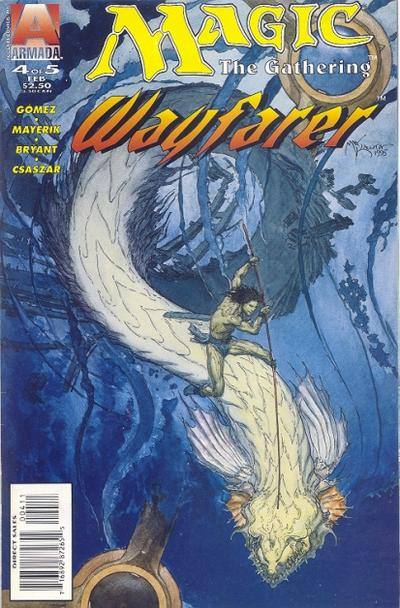 Cover for Magic the Gathering: Wayfarer (Acclaim / Valiant, 1995 series) #4