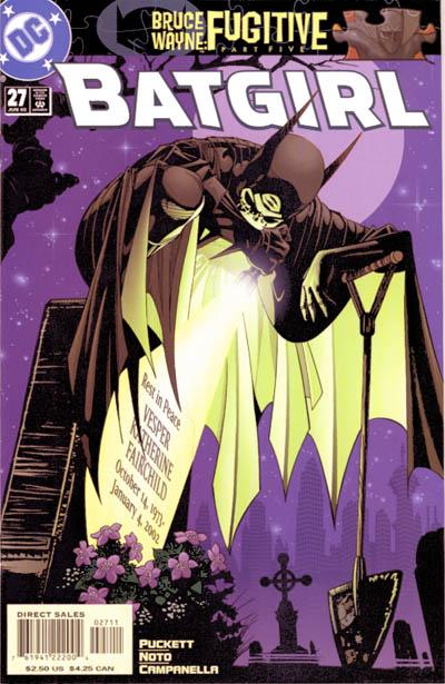 Cover for Batgirl (DC, 2000 series) #27