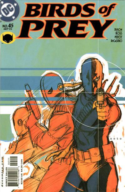 Cover for Birds of Prey (1999 series) #45