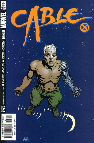 Cover for Cable (Marvel, 1993 series) #105 [Direct Edition]