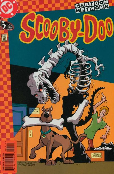 Cover for Scooby-Doo (DC, 1997 series) #13