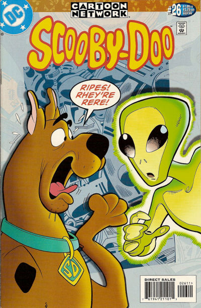Cover for Scooby-Doo (DC, 1997 series) #26