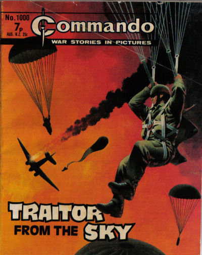 Cover for Commando (D.C. Thomson, 1961 series) #1000