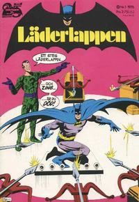 Cover Thumbnail for Läderlappen (Williams Förlags AB, 1969 series) #1/1976