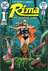 Cover Thumbnail for Rima, the Jungle Girl (DC, 1974 series) #1