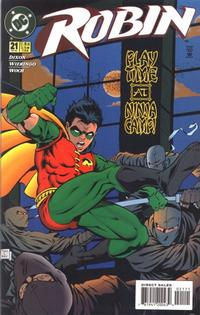 Cover Thumbnail for Robin (DC, 1993 series) #21