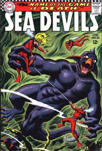 Cover for Sea Devils (DC, 1961 series) #35